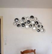 photo clients décoration murale cadraven