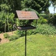 photo clients jardin mangeoire