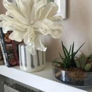photo clients vase et fleur